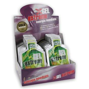 Extreme Gel com Guaraná - Cx 24 unid. - GoldNutrition