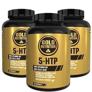 Pack 3 5-HTP GoldNutrition