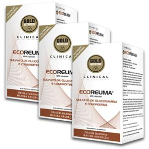 Pack 3 EcoReuma GoldNutrition Clinical