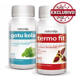 Pack Gotu Kola + Termo Fit Naturalia
