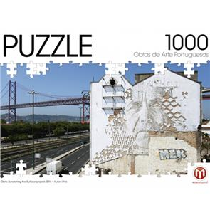 """Puzzle - Vhils """"Scratching the Surface Project"""""""