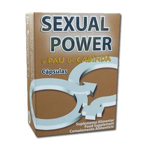 Sexual Power + Pau de Cabinda 40 cáps