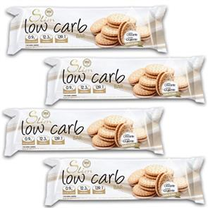 Slim Low Carb Bar - 4 unid. GoldNutrition